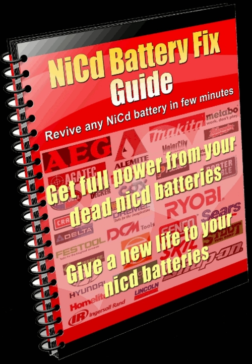 Product picture eMachines NiCd Battery Repair Instructions Fix NiCad Battery