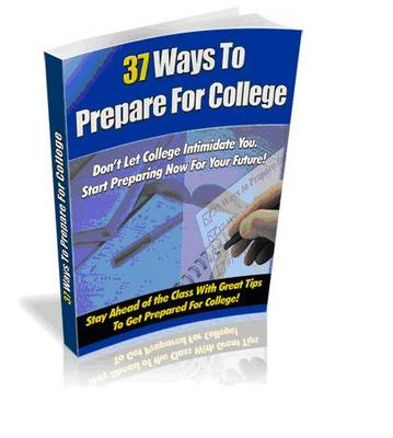 Product picture Preparing for College Admission - What You Need to Know